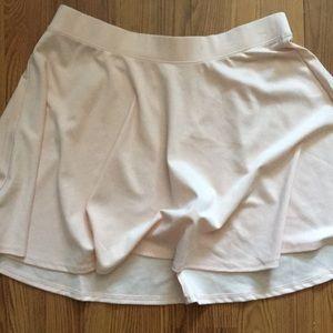 Millennial Pink Circle skirt